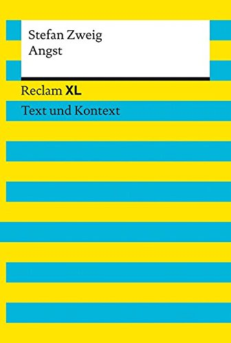 Angst: Reclam XL – Text und Kontext