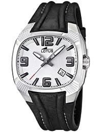 95dfd83c5601 Lotus 15759 1 - Reloj analógico de cuarzo para hombre con correa de piel