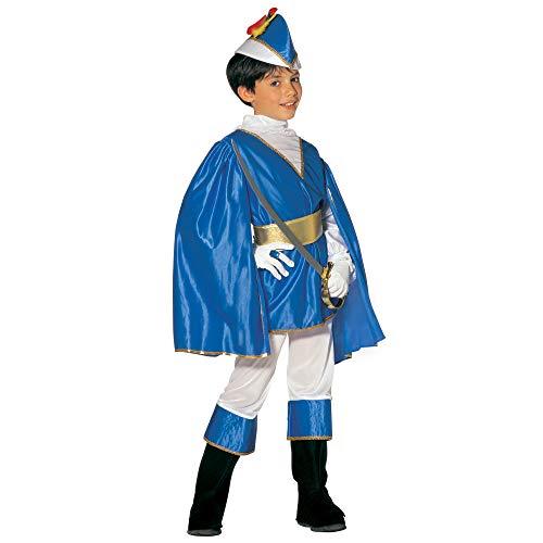 Widmann 38867 - Kinderkostüm Blauer Prinz, Größe 140