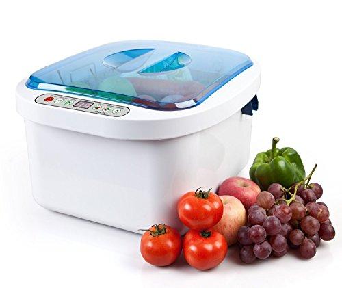 2014 Worldwidely Popular 12.8L Home Use Ultrasonic Ozone Vegetable Fruit Sterilizer Cleaner Washer Health Sold by TT Dental