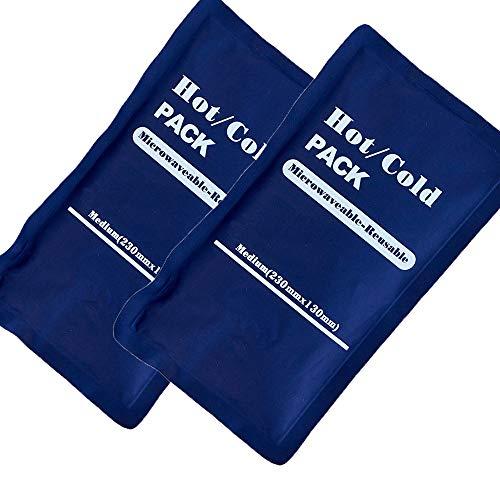 Steroplast Paquetes fríos y Calientes, 2 Unidades, 13 x 25 cm