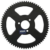 hmparts Pocket Bike Fusée vélo pignon 74 dents 3 mm (25H)