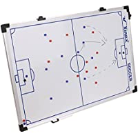 The HAEST Magnetic Tactic Board - Soccer - Great Coachboard with Magnets and Pen - 90 x 60 CM to 45 x 30 CM