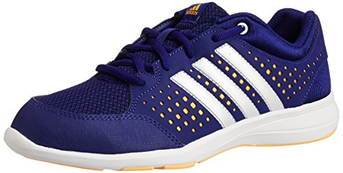 Adidas Women's Arianna Iii Amazon Purple, Zero Metallic and Solar Gold Mesh Indoor Multisport Court Shoes - 4 UK