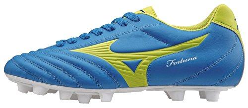 Mizuno Scarpa Calcio Ufficiale 2014/2015 Fortuna 4 MD P1GA158128 Blu Lime Taglia 40 BLU LIME