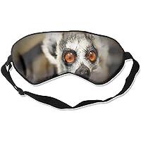 Eye Mask Eyeshade Lemur Face Sleep Mask Blindfold Eyepatch Adjustable Head Strap preisvergleich bei billige-tabletten.eu