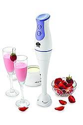 BMS Lifestyle BMS-H02 200-Watt Hand Blender (White)