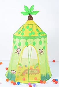 Kids Childrens Jungle Fun Pop-up Indoor Outdoor Play Tent  sc 1 st  Amazon UK & Kids Childrens Jungle Fun Pop-up Indoor Outdoor Play Tent: Amazon ...