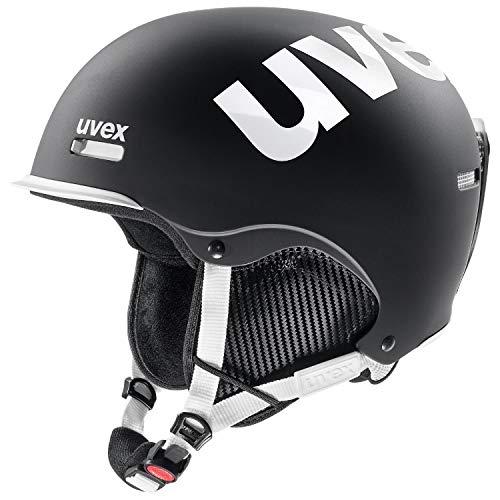 Uvex Unisex- Erwachsene hlmt 50 Black-White mat 55-59 cm Skihelm, 55-59