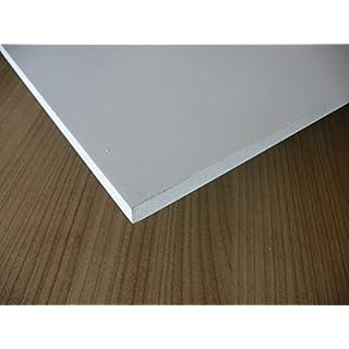 Platte aus PVC Hartschaum, 1000 x 500 x 5 mm weiß Zuschnitt alt-intech®