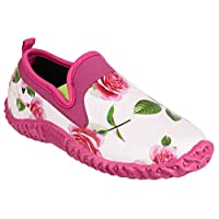 Cotswold Ladies Backdoor Shoe Ladies Rose Rubber Gardening Shoe 7