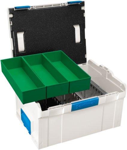 Sortimo 121018062 L-BOXX 238 inklusiv Trennblechset und Insetboxen G3