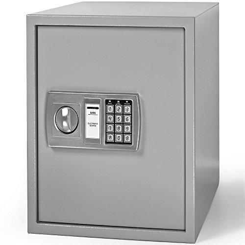 Dokumententresor 35x40x40cm – Safe Tresor Möbeltresor mit Elektronikschloss - 2