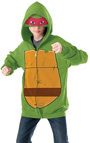 TMNT Raphael Child Costume Hoodie Medium