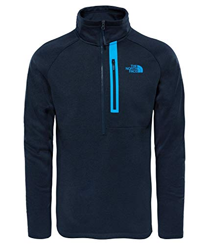 THE NORTH FACE Herren Canyonlands Pullover Größe L Blue (Urban Navy Heather) - The North Face Pullover Fleece