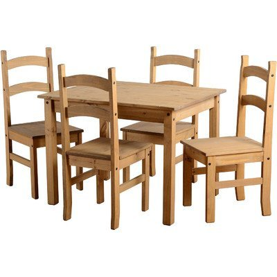 Stanley Mexican 5 Piece Dining Set