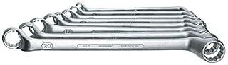 GEDORE 2-8 Doppelringschlüssel-Satz, tief gekröpft, geschmiedet, Ring dünnwanding und 5° abgewinkelt mit UD-Profil, DIN 838, 8-teilig, 6-22 mm (B0009QX2PK) | Amazon Products