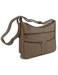 02aea8e392a77 STEFANO Damen Umhängetasche Schultertasche Frauen Handtasche soft PU  verschiedene Modelle