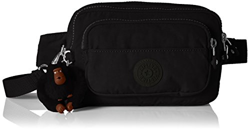 Kipling Multiple, Borse a Spalla Donna, Nero (True Black), 20x13x7.5 cm