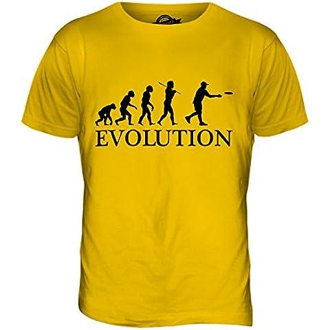 CandyMix Frisbee Evoluzione Umana T-Shirt da Uomo