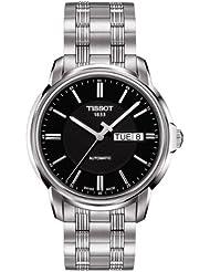 Tissot T0654301105100 - Reloj para hombres, correa de acero inoxidable color plateado