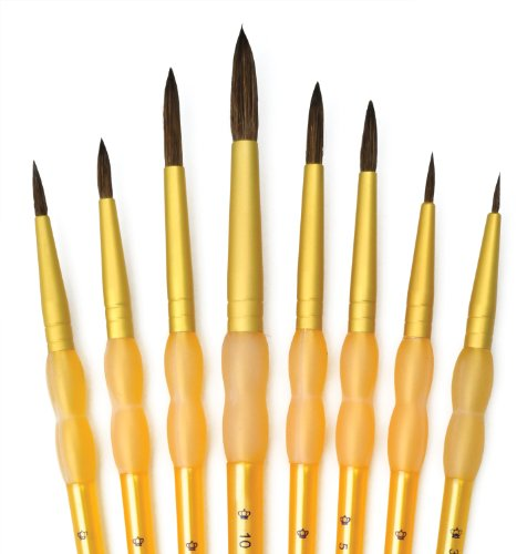 royal-and-langnickel-crafters-choice-round-camel-hair-brush-set-pack-of-8