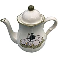 Zeller Keramik Kaffeekanne Biene Servierkanne NEU OVP Tee- & Kaffeekannen