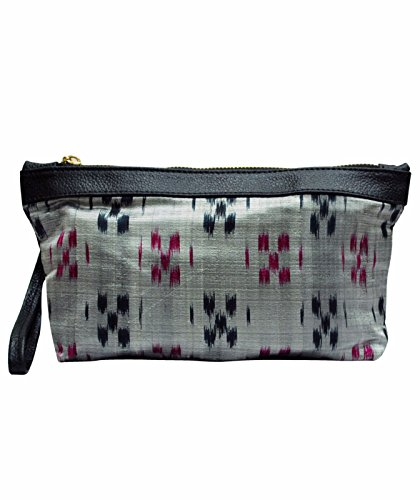Clean Planet Indiegenius Handcrafted Ikat Saree Pouch