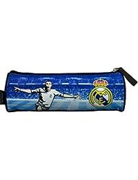 Real Madrid estuche escolar, colección oficial 2014/2015–de vuelta a la escuela–100% Fútbol