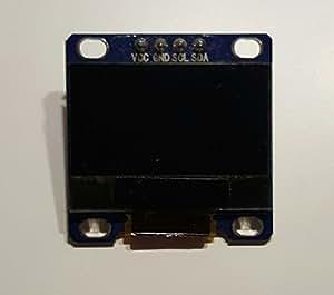 AZDelivery 128 x 64 Pixel 0,96 Zoll IIC OLED LCD Display LED modulo per Arduino, Raspberry Pi e UNO R3