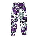 Xinvivion Danza Abiti - Modern Jazz Hip-Hop Prestazione Outfit Costumi Abbigliamento da Ballo Top/Pantaloni/Cappotto
