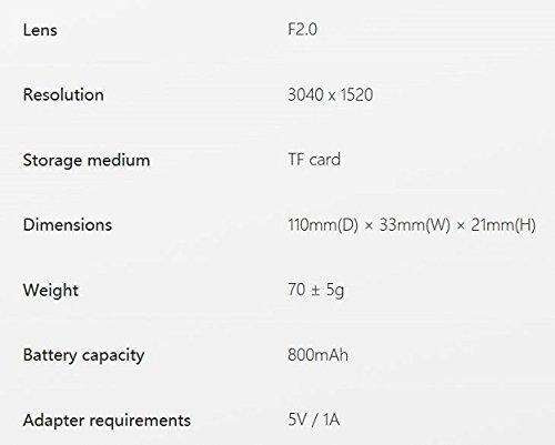 Insta360 Nano Compact Mini 360 Degree Panoramic Panorama Camera 3K HD Video 210 Degree Dual Wide Angle Fisheye Lens - 9