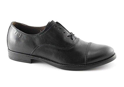 NERO GIARDINI 4500 nero scarpe uomo eleganti francesina puntale Nero