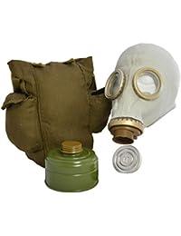 Original Soviética ruso GP5máscara de gas con filtro, bolsa y antivaho en gris o negro