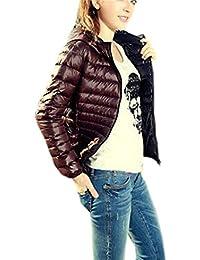 Tongshi La chaqueta caliente del abrigo del Parka del nuevo invierno encapuchado de las mujeres de la manera cubre hacia fuera Outwear