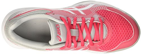 Asics Gel-Task, Scarpe Sportive Indoor Donna Rosso (Rouge Red/white/mid Grey 1901)