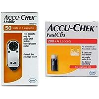 Preisvergleich für Accu Chek Mobile Kassette und Fastclix Lanzetten