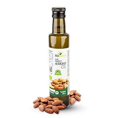 Certified Organic Cold Pressed Sweet Almond Oil 250ml Biopurus from Austria