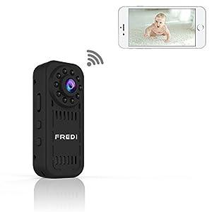 Mini Kamera FREDI 1080P HD Tragbare Kamera
