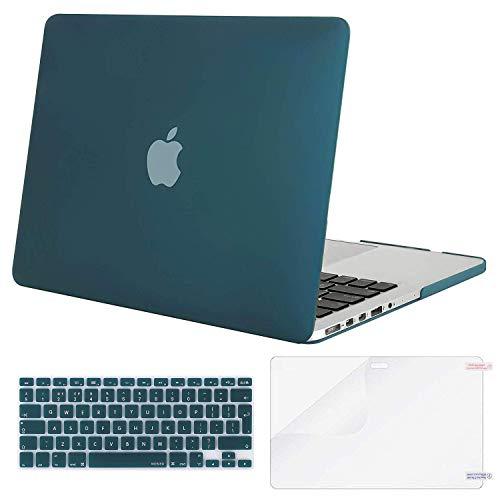 MOSISO Funda Dura Compatible con MacBook Pro 13 Retina A1425 / A1502 (Versión...