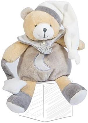 Babynat - Doudou Babynat Babynat Babynat Baby'nat ours pantin gris luminescent avec etoile 20 cms BN0139-7443 9888e0