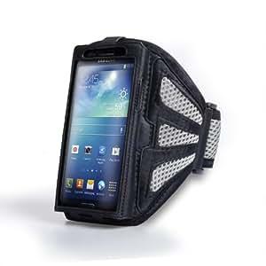 Samsung Galaxy S4 Tasche Schwarz Und Grau Sport Laufen Armbinde Hülle