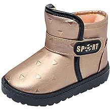 ZODOF Lindos Zapatos para niños Botas de Nieve para niños pequeños Botas de Nieve para niñas
