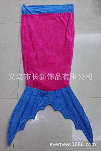 CLG-FLY Sacco a pelo coperta NAP TV,Rosa + blu,180 * (Re Sacco A Pelo)