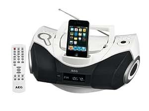 AEG SR 4337 IP Radio/Radio-réveil Lecteur CD MP3