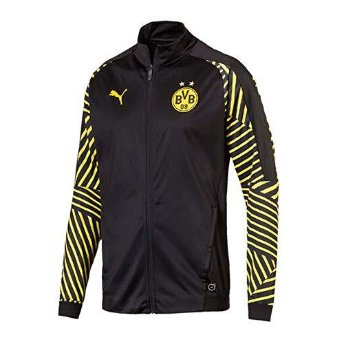 Puma 2018-2019 Borussia Dortmund Stadium Jacket (Black)