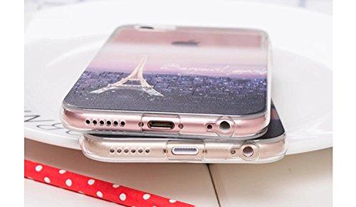 Case iPhone 5, iPhone 5S Cover, Bonice Lusso Cristallo Diamante Strass Glitter Bling [Rotazione Grip Ring Kickstand] Morbida Bordo in Silicone Posteriore a Specchio Telefono con Supporto Dellanello C Modello 06