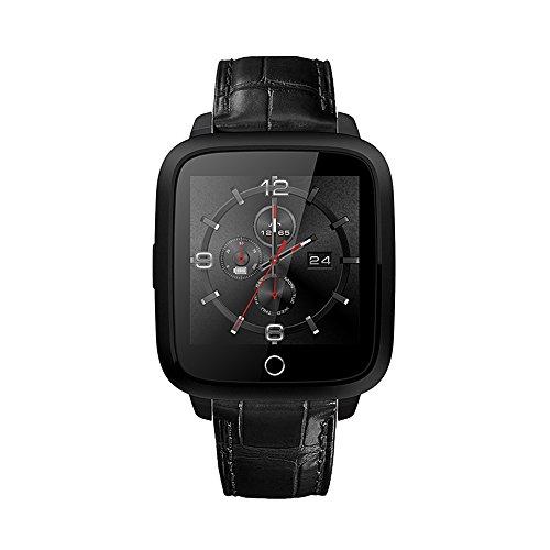 Ram-gps (Smart Watch Karte Plug-in Armbanduhr Handy mtk6580Chip WiFi Surf The Internet Smart Armband 1g RAM 8G ROM wifi bluetooth GPS Herzfrequenz Monitor 3G WCDMA Sim Android 5.1Smart Watch mit Kamera neue u11s für iOS/Android)