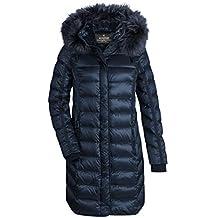 f095d09f1f9d MILESTONE Damen Daunenmantel Steppmantel Winter Mantel Gesteppt Lila  Bordeaux Navy Blau Olive Grün Schwarz Kapuze mit