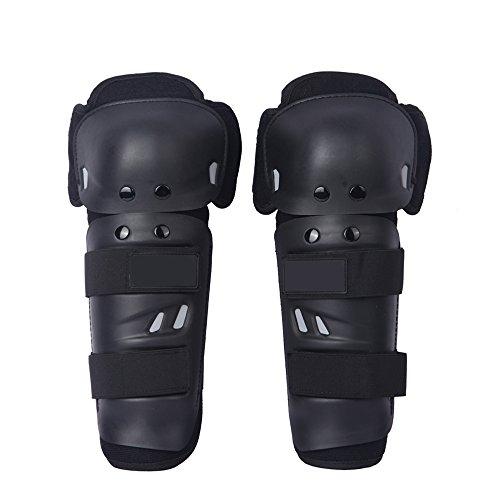 Docooler 1 paio Moto Knee Pad Motor Racing ginocchio della protezione del ginocchio ginocchiere Cap Guardia Bret